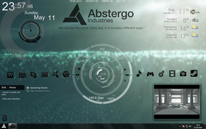 Assassin's Creed 4 - Abstergo Industries UI by xSakuraKurox