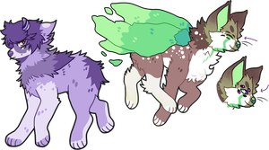 ADOPTS OPEN 3$ EACH by delsn