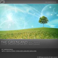 The Greenland wallpaper by darpan-aero
