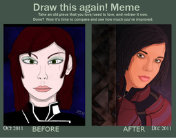 Draw This Again Meme by DoranBladefist