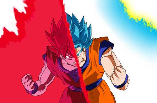 Goku New transformation V.1 by Luciano160
