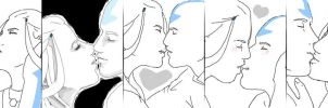 Kataang kisses by Nausicaa001