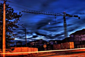 Apocalyptic moon  - HDR by HDRenesys