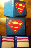 Superman Duct Tape Wallet by thejenty