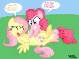 Tickle Tickle Tickle!!! by WillisNinety-Six
