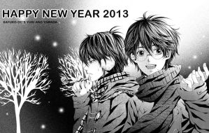 happy new year 2013 by sayuko