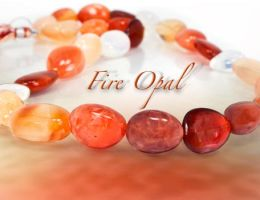 More Mexican Fire Opals by BeadsofCambay