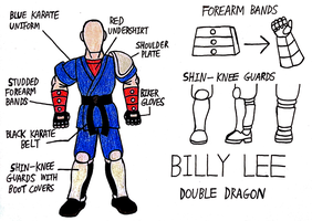 Billy Lee Cosplay Blueprint by StealthNinja5