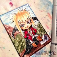 Ickle Jarethkins Art Card by Doodleholic