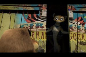 Gia from madagascar 3 by nala123456789