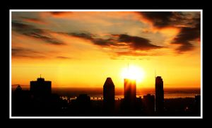 Montreal Sunrise by P-Photographie