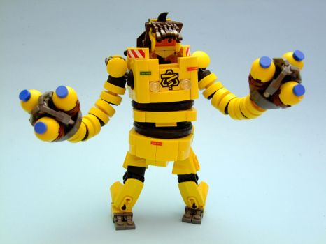 Lego ARMS - Mechanica by Djokson