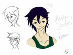 Face Doodles 001 by SugaryDeath