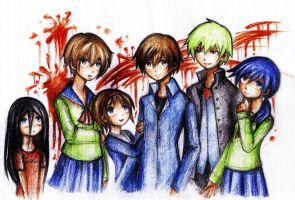 Corpse Party by maskedpeach