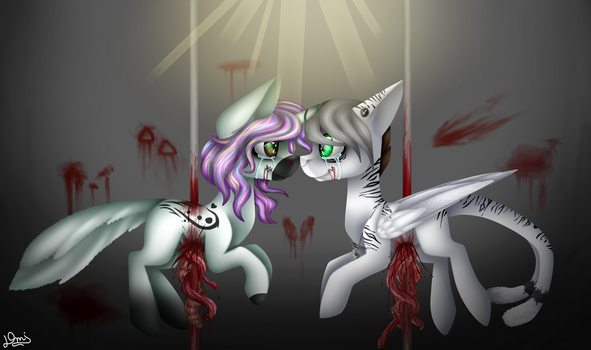 Dying together (Fi-Senapai's contest entry) by DemiM0n
