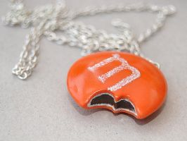 Orange MM Candy Necklace by Madizzo