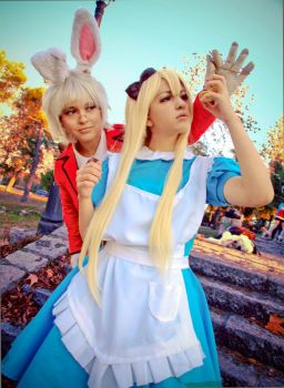 Are you my Alice? - Alice in Wonderland by NamiWalker