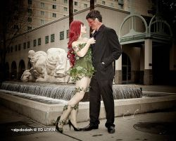 Poison Ivy + Two Face [127] Sacanime W-2013 by zipdodah