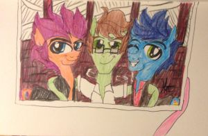 In Rememberance of Three Cool Cats by Hazeltail55