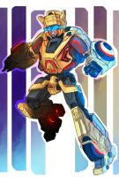 TF : BB War for Cybertron by RadeRizo