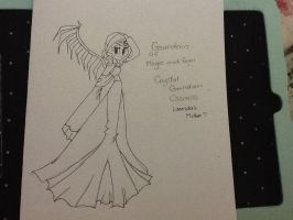 Crystal Guardian Cosmos by angelchibivocaloid