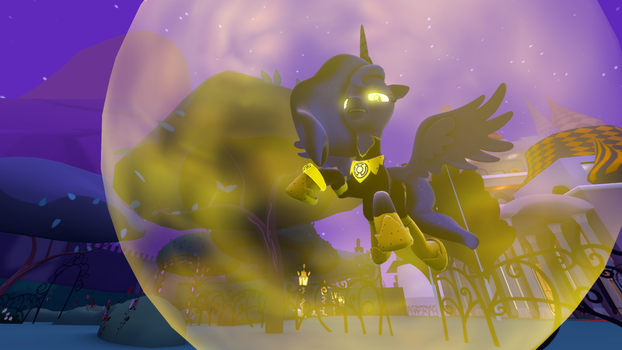 Yellow Lantern Luna: 'FACE YOUR FEARS!' by M00N-CHASER