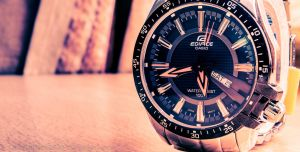 Casio Edifice ED130 by harishrvt
