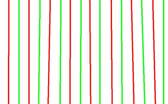 Green and red stripes by moonlight-ballerina