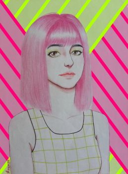 Neon x Lines by pamrl