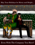 Collab: Justin and Seth Holidays 2014 by BloodAngel28