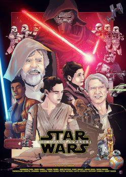 The Force Awakens by LiamShalloo