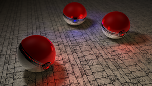 Pokeball 2nd version by danielkrull