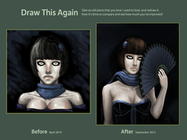 Draw it Again: Pale Woman by Realityendshere