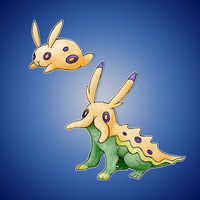 Sea hare Fakemon by FakeMakeT