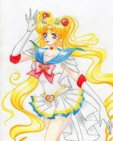 Sailor Moon by IslaAntonello