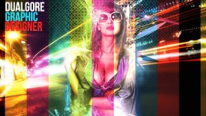 Colourful Girl by MrP3pC