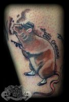 Big Cheese by state-of-art-tattoo