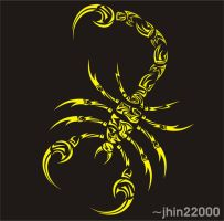 tribal scorpion 05.08 by jhin22000