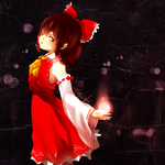 Reimu doodle by HonG-t