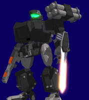 FAS with Modular Weapons by MechaWolfie