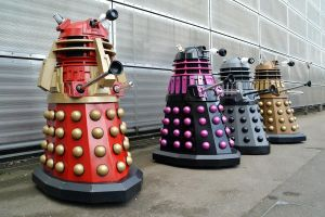 Daleks at Brit Sc-Fi Weekend NSC 2015 (4) by masimage