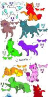 one point adoptables by spottedcloud123