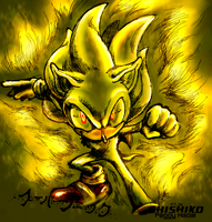 Glowing Gold - Super Sonic col by sensum