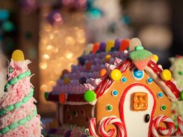 Gingerbread Bokeh by skdennard