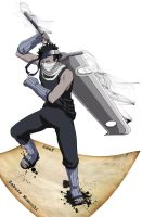 Zabuza Momochi by HoodedHound