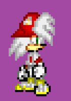Cris The Hedgehog Sprite by NSMBXomega