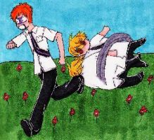 Frolicking Through the Flowers by FullmetalApollo