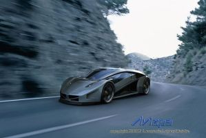Avizpa Concept Car by lambo