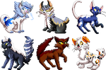 Sprites Pack for J.B. - vol. 3 by Adamiro