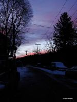 Sunset after the snow Jan62010 by seto2112
